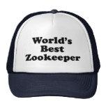 World's Best Zookeeper Cap