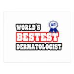 World's Bestest Dermatologist Postcard