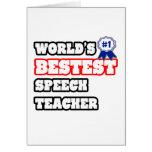 World's Bestest Speech Teacher