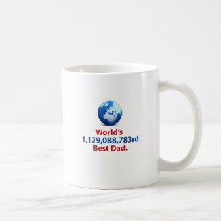 World's Billionth Best Dad Mug