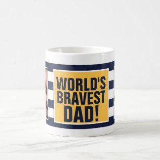 World's Bravest Dad - Father's Day Coffee Mug