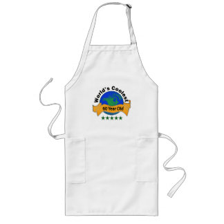 World's Coolest 60 Year Old Long Apron