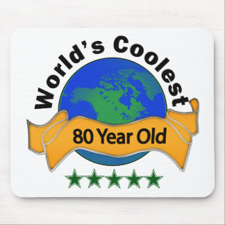 World's Coolest 80 Year Old Mouse Pad
