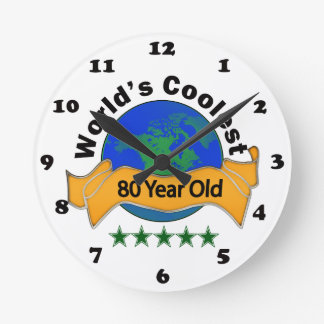 World's Coolest 80 Year Old Round Clock