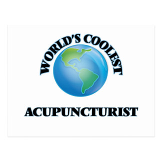 wORLD'S COOLEST aCUPUNCTURIST Post Cards