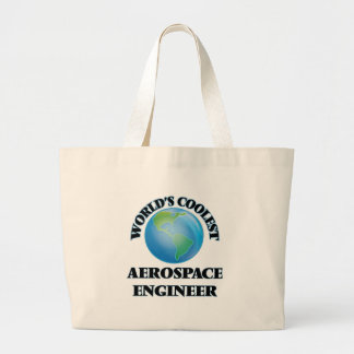 wORLD'S COOLEST aEROSPACE eNGINEER Tote Bags