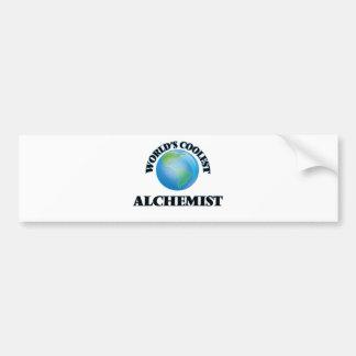 wORLD'S COOLEST aLCHEMIST Bumper Stickers