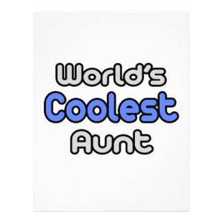 World's Coolest Aunt Flyers