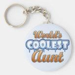 World's Coolest Aunt Key Chain
