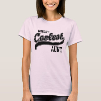 World's Coolest Aunt T-Shirt