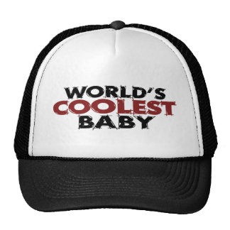 Worlds Coolest Baby Boy Trucker Hat
