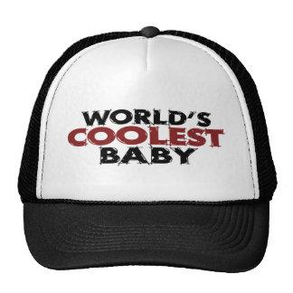 Worlds Coolest Baby Boy Mesh Hat