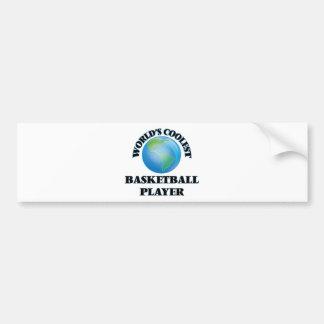 World's coolest Basketball Player Bumper Stickers