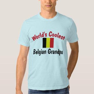 World's Coolest Belgian Grandpa Tee Shirt