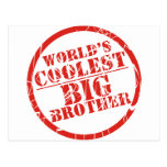 World's Coolest Big Brother Postcards