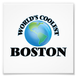 World's Coolest Boston Photo Print