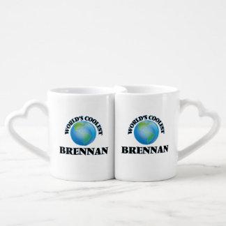 World's Coolest Brennan Lovers Mug Set
