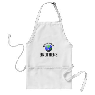 World's Coolest Brothers Standard Apron