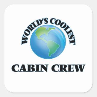 World's coolest Cabin Crew Sticker