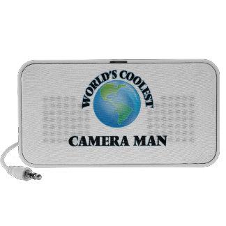 World's coolest Camera Man Travel Speaker