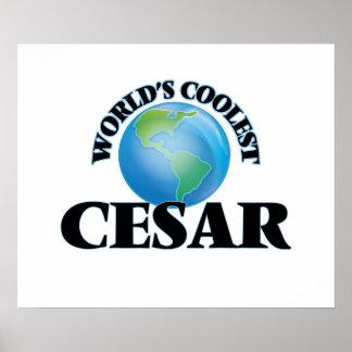 World's Coolest Cesar Print