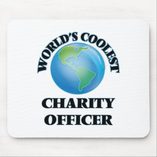 World's coolest Charity Officer Mouse Pads