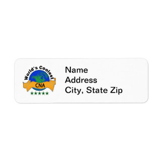 World's Coolest CNA Return Address Label