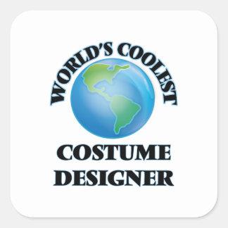 World's coolest Costume Designer Square Sticker