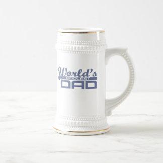 World's Coolest Dad Beer Steins