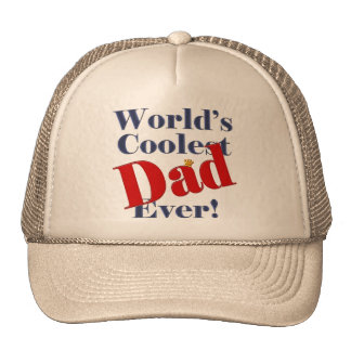 World's Coolest Dad Ever Father's Day Gift Cap