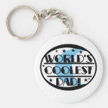 World's Coolest Dad Key Chains