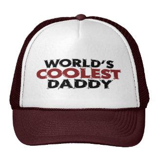 Worlds Coolest Daddy Trucker Hat