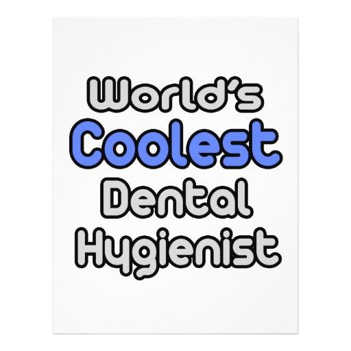 World's Coolest Dental Hygienist Full Color Flyer