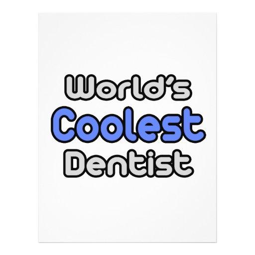World's Coolest Dentist Flyer
