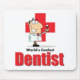 World's Coolest Dentist Mouse Mat