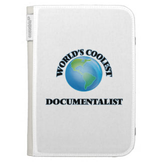 World's coolest Documentalist Kindle Keyboard Cases
