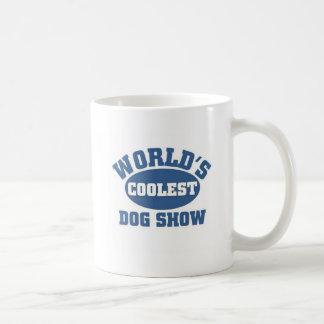 World's Coolest Dog Show Basic White Mug