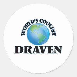 World's Coolest Draven Round Sticker