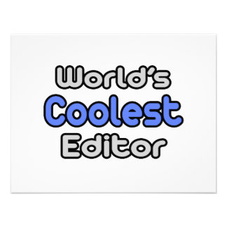 World's Coolest Editor Custom Announcement
