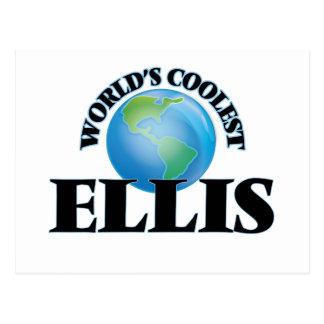 World's Coolest Ellis Postcard