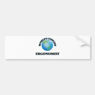 World's coolest Ergonomist Bumper Stickers