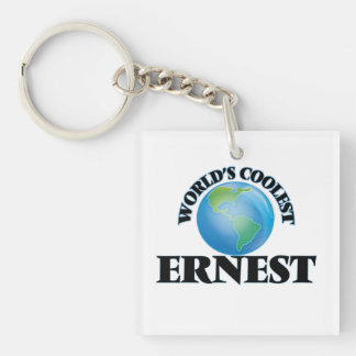World's Coolest Ernest Acrylic Keychain