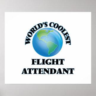 World's coolest Flight Attendant Print