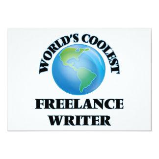 World's coolest Freelance Writer Custom Announcements