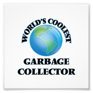 World's coolest Garbage Collector Photo Print