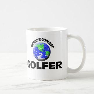 World's Coolest Golfer Coffee Mug