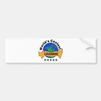 World's Coolest Grammie Bumper Sticker