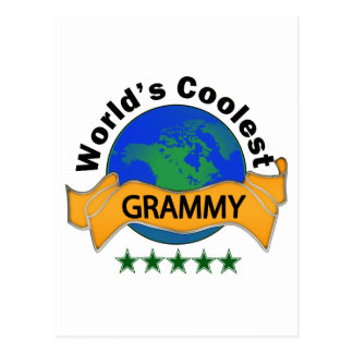 World's Coolest Grammy Postcard