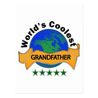 World's Coolest Grandfather Postcard