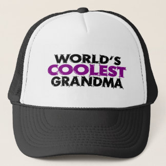 Worlds Coolest Grandma Trucker Hat